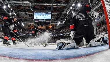 THOMAS SABO Ice Tigers beim Spengler Cup