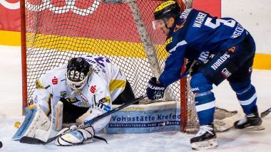 Game Report: ERC Ingolstadt - Krefeld Pinguine
